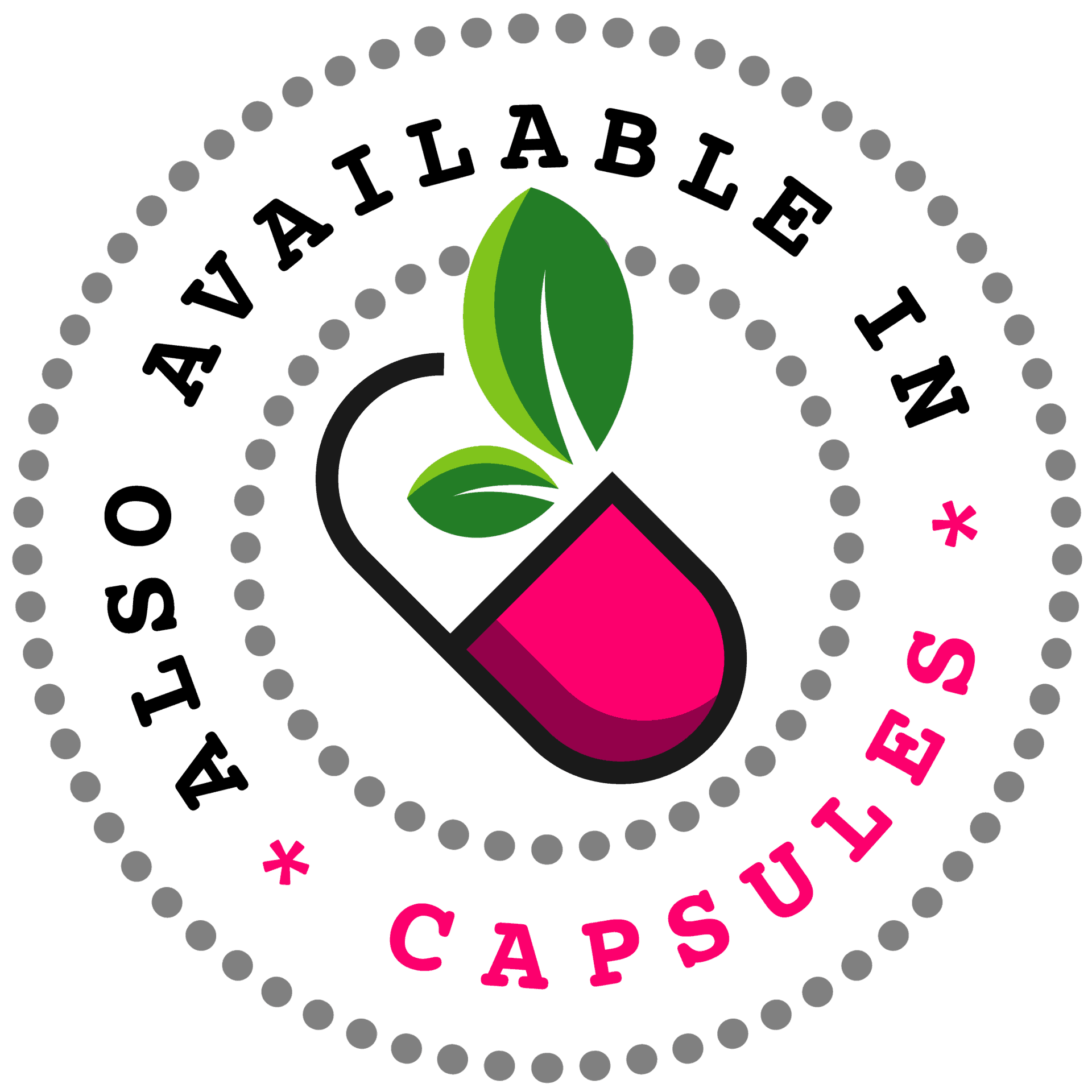 Also available in Capsules