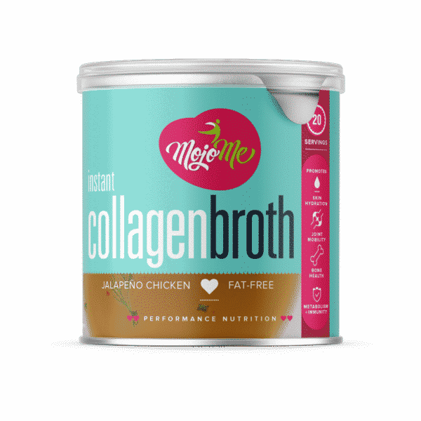 MojoMe Instant Collagen Bone Broth Jalapeño Chicken 250g
