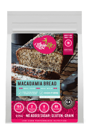 MojoMe Low-Carb Sugar-Free Macadamia Bread 275g