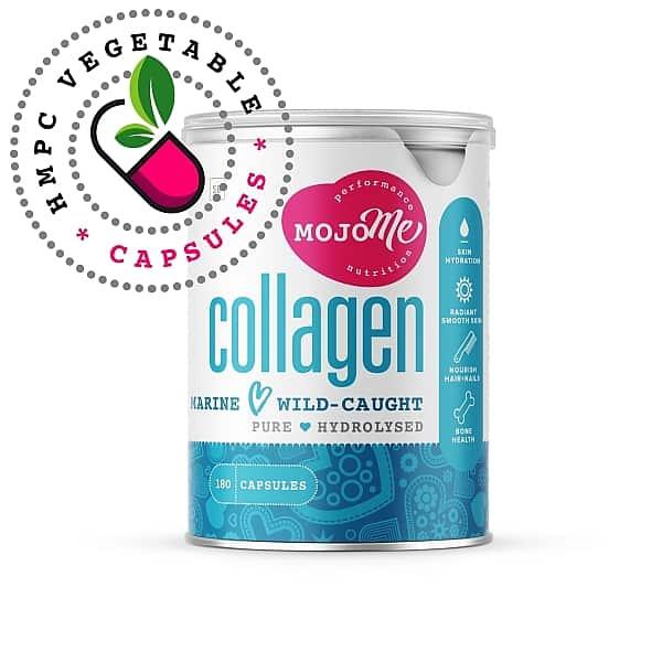 MojoMe Marine Collagen Capsules 180