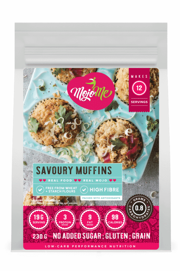 MojoMe Low-Carb Savoury Muffins 230g