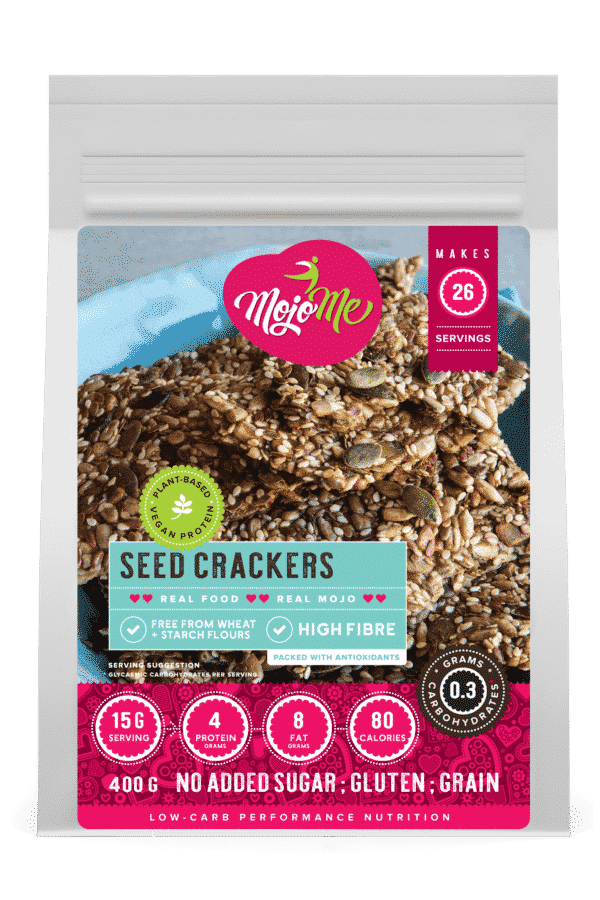 MojoMe Low-Carb Seed Crackers 400g