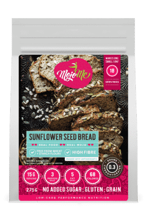 MojoMe Low-Carb Sunflower SeedBread 275g