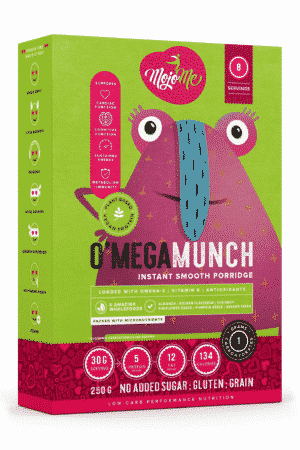 MojoMe O'Mega Munch Instant Smooth Porridge 250g