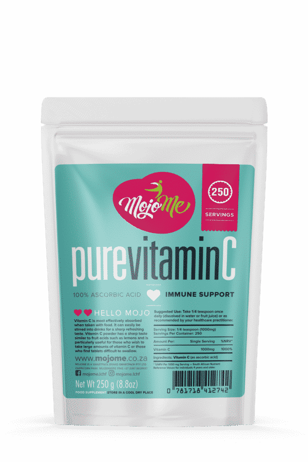 MojoMe 100% Pure Vitamin C Powder